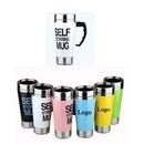 Custom Stainless Steel Self Stirring Coffee Cup