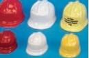 Custom Plastic Construction Hat Accessory For Stuffed Animal (Medium)