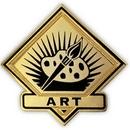 Custom School Pin - Art, 1
