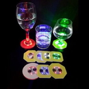 Custom Led Lights Up Drink Coasters, 2 3/4