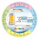 Custom Blood Alcohol Concentration Wheel Calculator (4.25