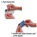 Custom Self-Adhesive Business Card Magnet (2