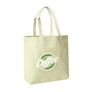Custom Cotton Canvas Shoulder Totes with Velcro Closure, 19