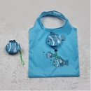 Custom Fish Shaped Foldable Grocery Tote Bag, 15 4/5