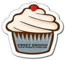 Custom Stock 30 Mil Cupcake Magnet, 4.0625