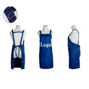 Custom Cotton Waterproof Apron with Adjustable Neck Strap & Waist Ties, 30 7/10