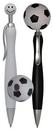 Custom Soccer Top Click Pen, 6