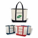 Custom Deluxe Cotton Canvas Tote, Grocery Shopping Bag, 22