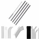 Custom 30OZ Reusable Stainless Steel Straws, 10 1/2