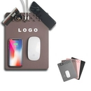 Custom Wireless Charging Mouse pad with Phone Stand, 10 7/10
