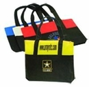 Custom Non Woven Tote Bag with Zipper (18 1/2