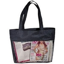 Custom Micro Mesh Shopping Tote Bag (21