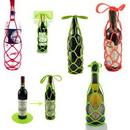 Custom Multi-function Silicone Wine Bottle Holder / Pot Mat, 7 1/8