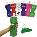 Custom 19 oz. Fold-Flat Reusable Sport Bottle