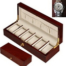 Custom Mahogany 6 Watch Case w/ Rosewood Finishing, 13