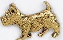 Custom Scottish Terrier Dog Stock Cast Pin