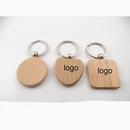 Custom Wooden Keychain, 2 1/10