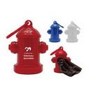 Custom Fire Hydrant Pet Waste Bag Dispenser, 2 1/2