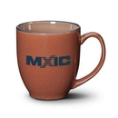 Custom Bistro 3-Tone Mug - 16oz Chocolate