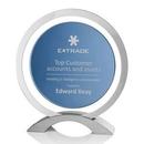 Custom Excaliber Award - Blue/Aluminum 51/4