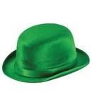 Custom Green Vel Felt Derby Hat