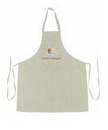 Custom Cotton Poly Full Length Apron, 28