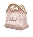 Custom Klutch Velvet Neoprene Lunch Bag, 9.5