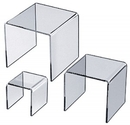 Custom Acrylic U Riser Stand (6
