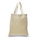 Custom Cotton Canvas Tote Bag, 15