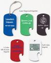 Custom Amcraft - Military Dog Tag Bottle Opener Pet / ID Tag (2
