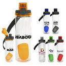 Custom Locking Lid 24oz. Bottle with Floating Infuser, 2.75