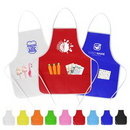 Custom Children Non-Woven Apron with Two Front Pocket, 15.7