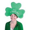 Custom Plush St. Patrick's Day Shamrock Hat