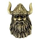 Blank Viking Mascot Fully Modeled 3 Dimensional Pin