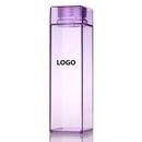 Custom Square Shape Water Bottles, 8 1/2