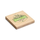 Custom Bamboo Drink Coaster - Square, 4