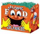 Blank Junk Food Junkie Large Basket Box, 10 1/4