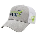 Custom Heathered Polyester with Ulra Soft Mesh Back Cap