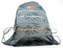Light Weight Microfiber Drawstring Backpack
