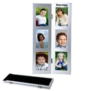 Custom 2-Fold 6-Photo Metal Frame