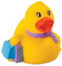 Custom Rubber Shopping Duck, 3 1/2