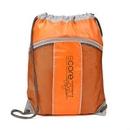 Custom The Leader Drawstring Bag - Orange, 14.0