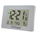 Custom Clock - Atomic LCD Wall or Desk Alarm Clock, 7.25