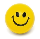 Custom Smiley Face Squeeze Ball (2 1/2