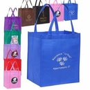 Custom Grocery Value Non Woven Tote Bag, 12.58