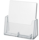 Custom Slant Back Brochure Holders with BCH1 - Large (Fits 8-1/2