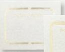 Foil Embossed Blank Certificate Border (Appreciation), 8 1/2