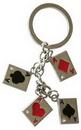 Custom 4 Aces Key Chain