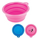 Custom Collapsible Silicone Pet Bowl, 5
