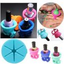 Custom Silicone Nail Polish Bottle Holder, 2